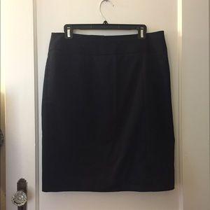Anne Klein Navy Blue Pencil Skirt!